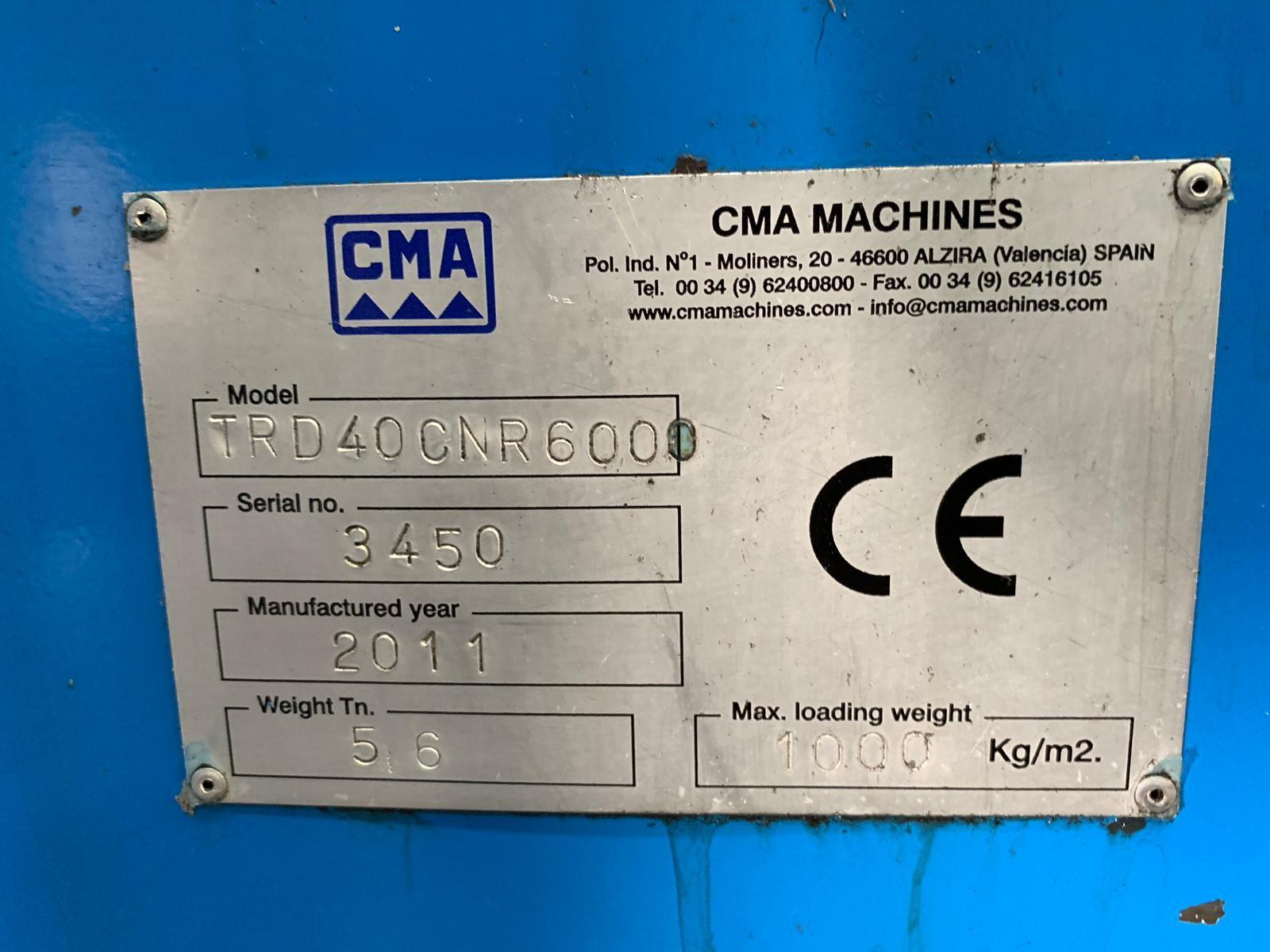 CMA TRD 40 CNR 6000 3